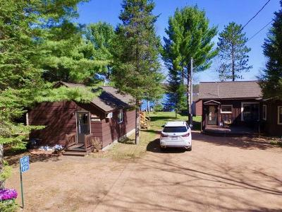 Forest County, Iron Wi County, Langlade County, Lincoln County, Oneida County, Vilas County Condo/Townhouse For Sale: 8186 Lost Lake Dr S #8