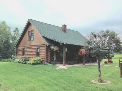 Single Family Home For Sale: W4293 Cth J