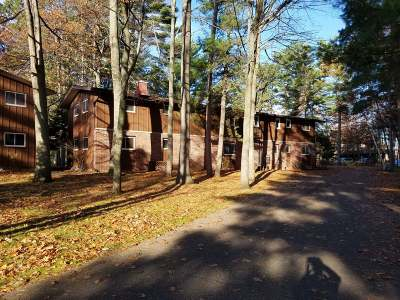 Forest County, Iron Wi County, Langlade County, Lincoln County, Oneida County, Vilas County Condo/Townhouse For Sale: 9644 Fieldstone Dr #C 2