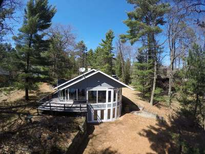 Three Lakes Single Family Home For Sale: 1323 Pine Isle Rd