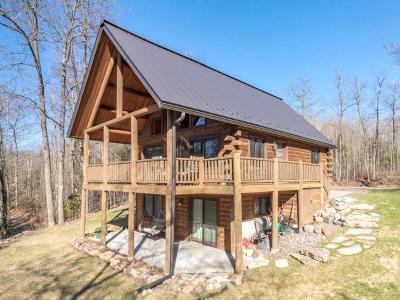 Lac Du Flambeau Single Family Home For Sale: 3085 Cth D