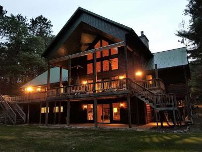 Eagle River Single Family Home For Sale: 884 Meta Lake Rd