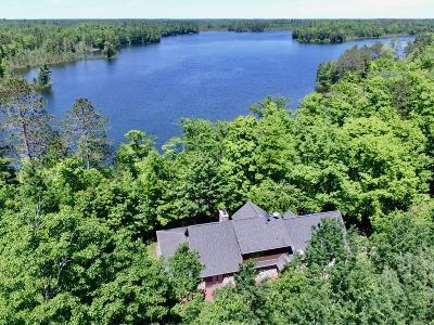 Lac Du Flambeau Single Family Home For Sale: 1897 Mitten Lake Rd