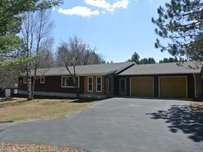 Rhinelander WI Single Family Home For Sale: $249,500