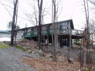 Phillips Single Family Home For Sale: N7912 Wilson Lake Rd