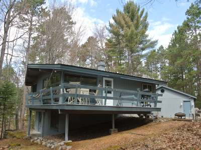 Three Lakes WI Single Family Home For Sale: $229,500