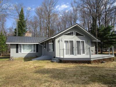 Iron Wi County Single Family Home For Sale: 3951w Peninsula Rd