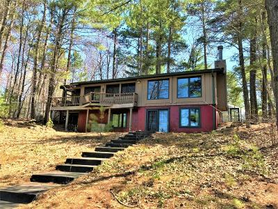 Lincoln County, Price County, Oneida County, Vilas County Single Family Home Active O/C: 3098 Kiboniki Point Ln
