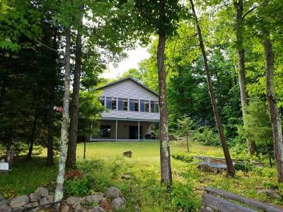 Minocqua Single Family Home For Sale: 5575 Pier Lake Rd E