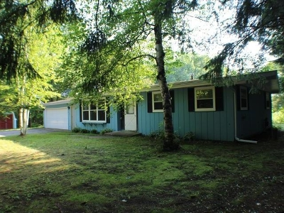 Forest County, Iron Wi County, Langlade County, Lincoln County, Oneida County, Vilas County Single Family Home For Sale: 8706 Brown Rd
