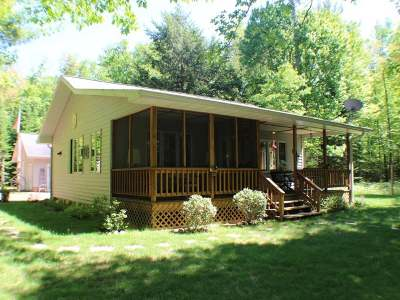 Forest County, Iron Wi County, Langlade County, Lincoln County, Oneida County, Vilas County Single Family Home For Sale: 1235 Little Bass Lake Rd N