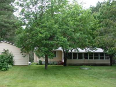 Lake Tomahawk Single Family Home Active O/C: 7453 Wolf Rd
