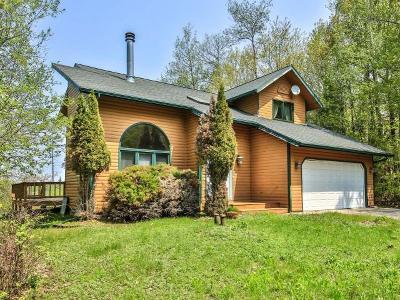 Lac Du Flambeau Single Family Home For Sale: 1061 Cth F