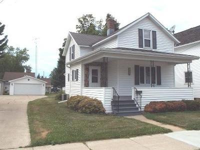 Antigo Single Family Home Active O/C: 416 Edison St