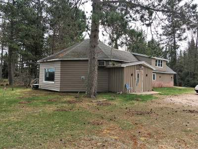 Forest County, Iron Wi County, Langlade County, Lincoln County, Oneida County, Vilas County Single Family Home For Sale: 5038 Evergreen Ct