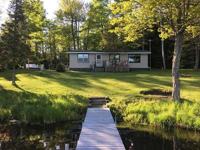 Forest County, Iron Wi County, Langlade County, Lincoln County, Oneida County, Vilas County Single Family Home For Sale: 7749 Birchwood Dr