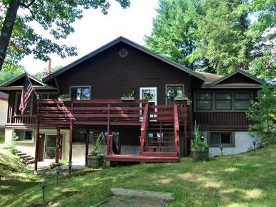 Three Lakes WI Single Family Home For Sale: $549,000