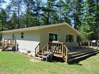 Three Lakes WI Single Family Home For Sale: $197,000
