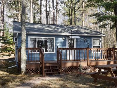 Forest County, Iron Wi County, Langlade County, Lincoln County, Oneida County, Vilas County Single Family Home For Sale: 7301 Campground Rd