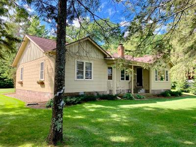 Lac Du Flambeau WI Single Family Home For Sale: $429,000