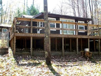 Minocqua Single Family Home For Sale: 8450 Swan Lake Dr