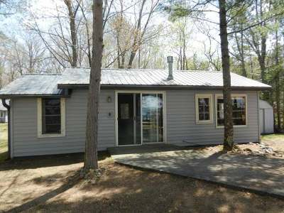 Lac Du Flambeau WI Single Family Home For Sale: $269,995