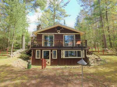 Vilas County Single Family Home For Sale: 5535 Blong Rd