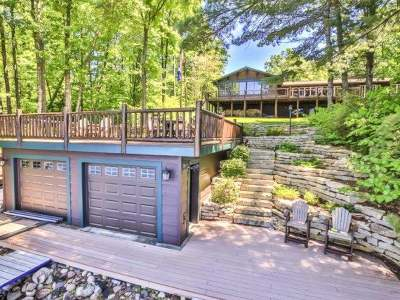 Lac Du Flambeau WI Single Family Home Active O/C: $1,099,000