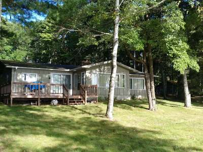 Eagle River Single Family Home For Sale: 1032 Catfish Lake Rd