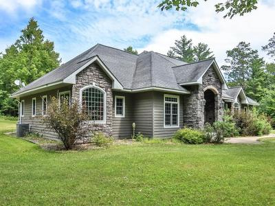 Minocqua WI Single Family Home For Sale: $489,000