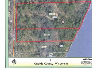 Lac Du Flambeau WI Residential Lots & Land For Sale: $359,900