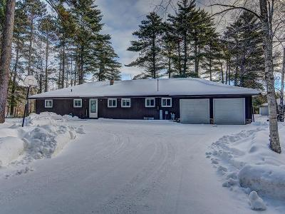 Forest County, Iron Wi County, Langlade County, Lincoln County, Oneida County, Vilas County Single Family Home For Sale: 1508 Watersmeet Lake Rd