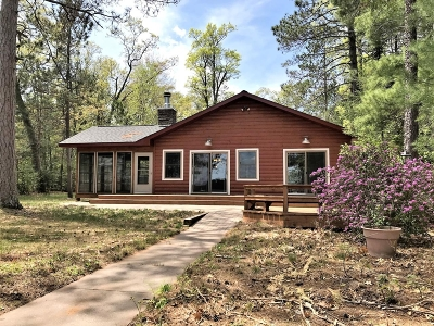 Lac Du Flambeau WI Single Family Home For Sale: $699,000