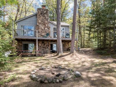 Lac Du Flambeau WI Single Family Home For Sale: $389,900