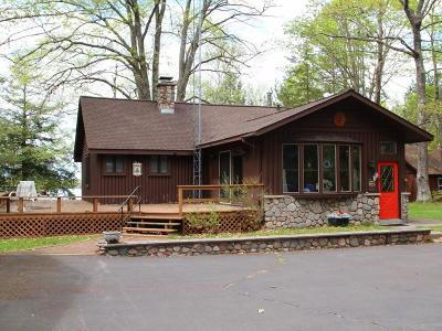 Lac Du Flambeau WI Single Family Home For Sale: $484,900