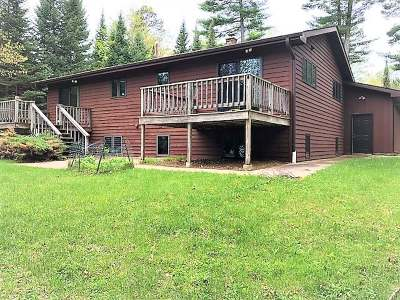 Vilas County Single Family Home For Sale: 2201 Balsam Ln