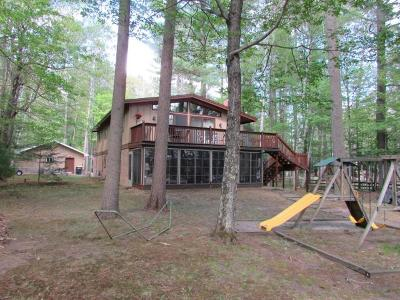 Vilas County Single Family Home For Sale: 11341 Hungry Lake Rd