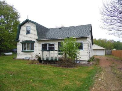 Gleason Single Family Home For Sale: N5310 Bradley St