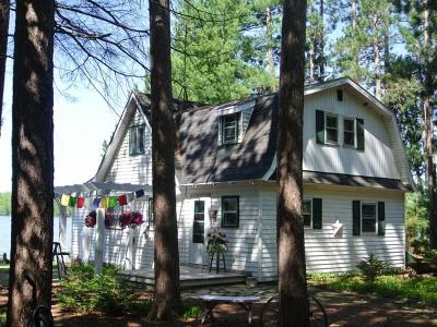 Three Lakes WI Single Family Home For Sale: $319,900