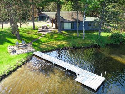 Vilas County Single Family Home For Sale: 6189 Summer Bay Tr