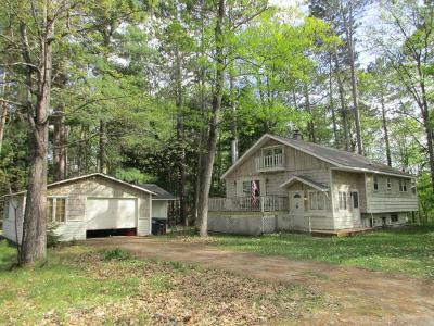 Forest County, Iron Wi County, Langlade County, Lincoln County, Oneida County, Vilas County Single Family Home For Sale: 701 Hwy 45