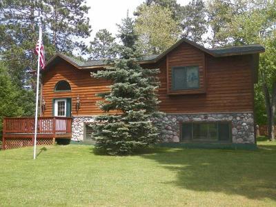 Minocqua Single Family Home For Sale: 8710 Richardson Plat Rd