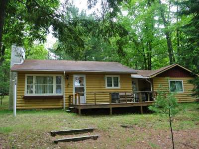 Three Lakes WI Single Family Home For Sale: $324,900