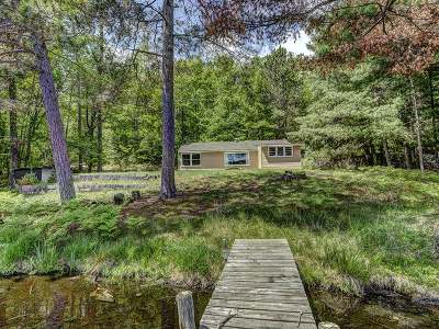 Three Lakes Single Family Home For Sale: 8142 Hull Rd