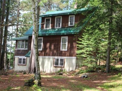Forest County, Iron Wi County, Langlade County, Lincoln County, Oneida County, Vilas County Single Family Home For Sale: 6441 Landing Lake Rd