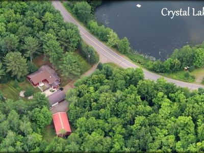 Forest County, Iron Wi County, Langlade County, Lincoln County, Oneida County, Vilas County Single Family Home For Sale: 3538 Cth Ff