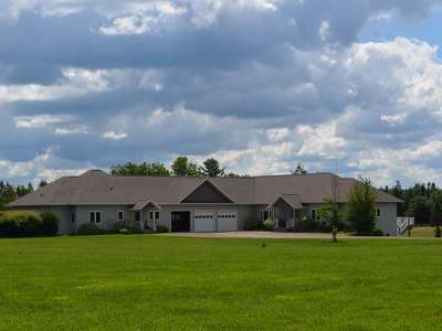 Tomahawk WI Single Family Home For Sale: $599,900