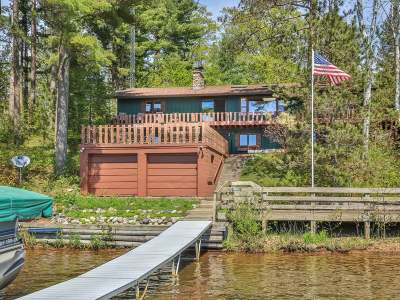 Minocqua WI Single Family Home Active O/C: $649,500