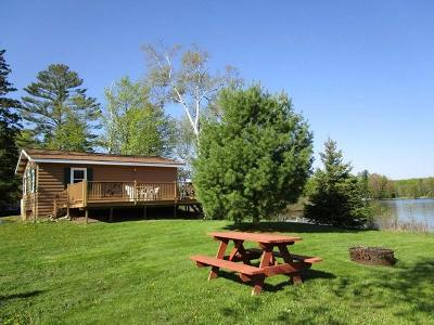 Forest County, Iron Wi County, Langlade County, Lincoln County, Oneida County, Vilas County Condo/Townhouse For Sale: 6164w Downey Rd