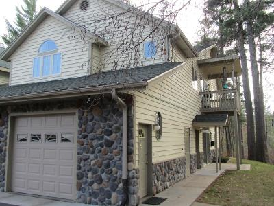 Forest County, Iron Wi County, Langlade County, Lincoln County, Oneida County, Vilas County Condo/Townhouse For Sale: 300 Brandy Point Dr #G55